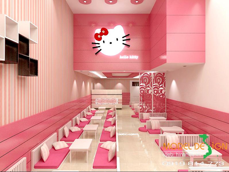 Dự án thiết kế quán trà sữa