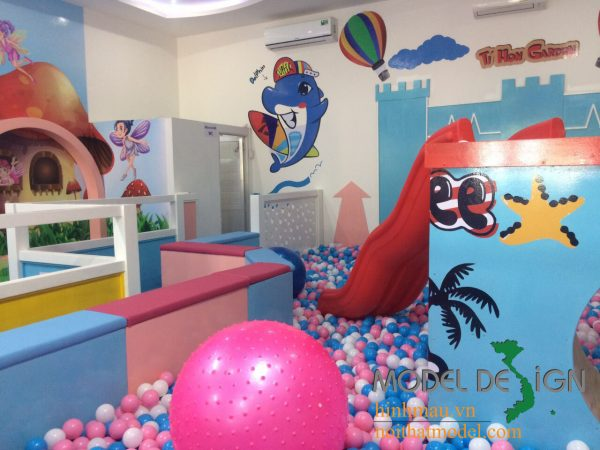 Thiết kế khu vui chơi trong nhà