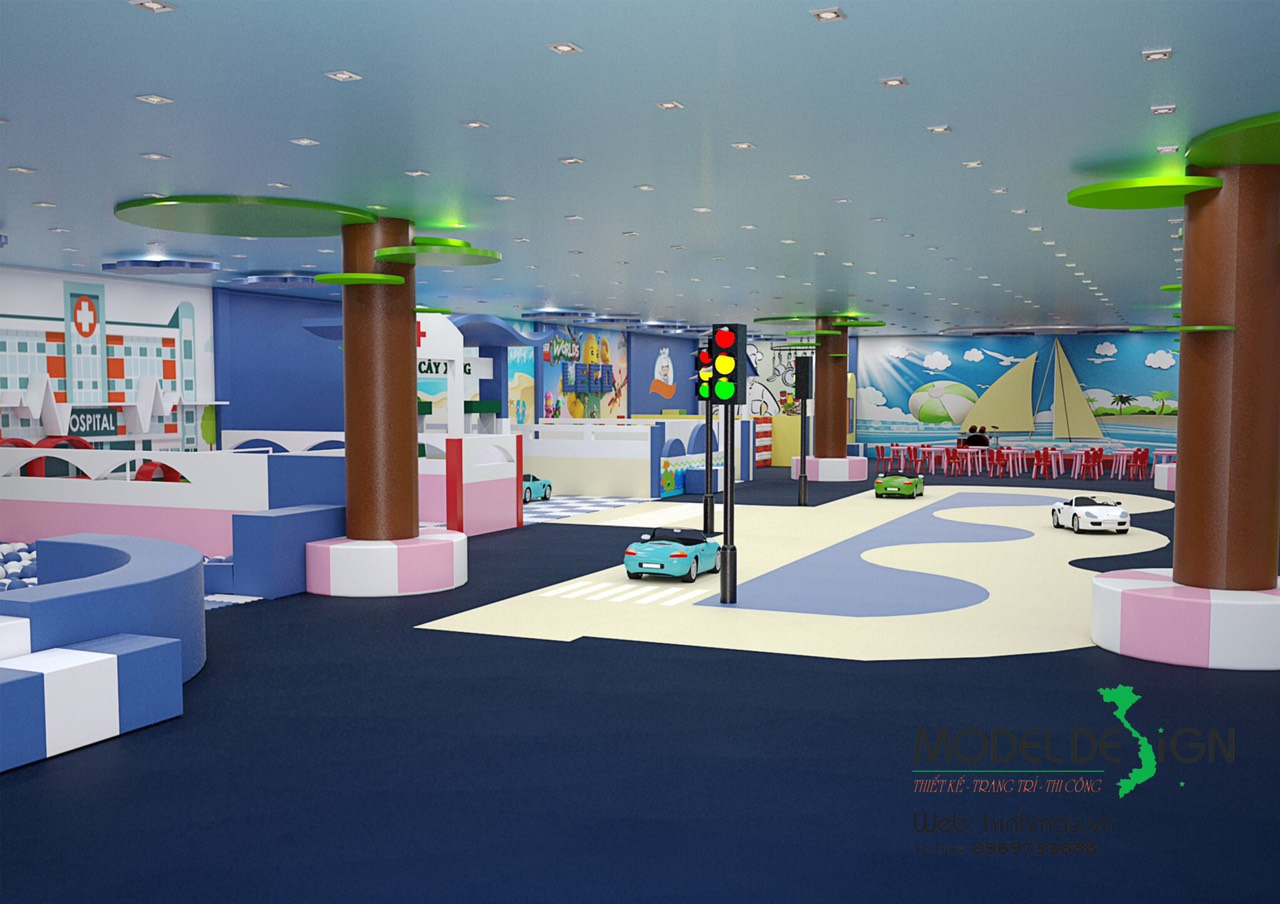 Thiết kế khu vui chơi tại vũng tàu